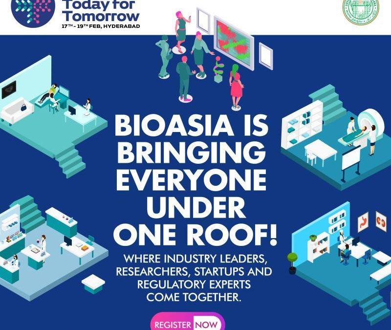 Meet us at BioAsia 2020 in India