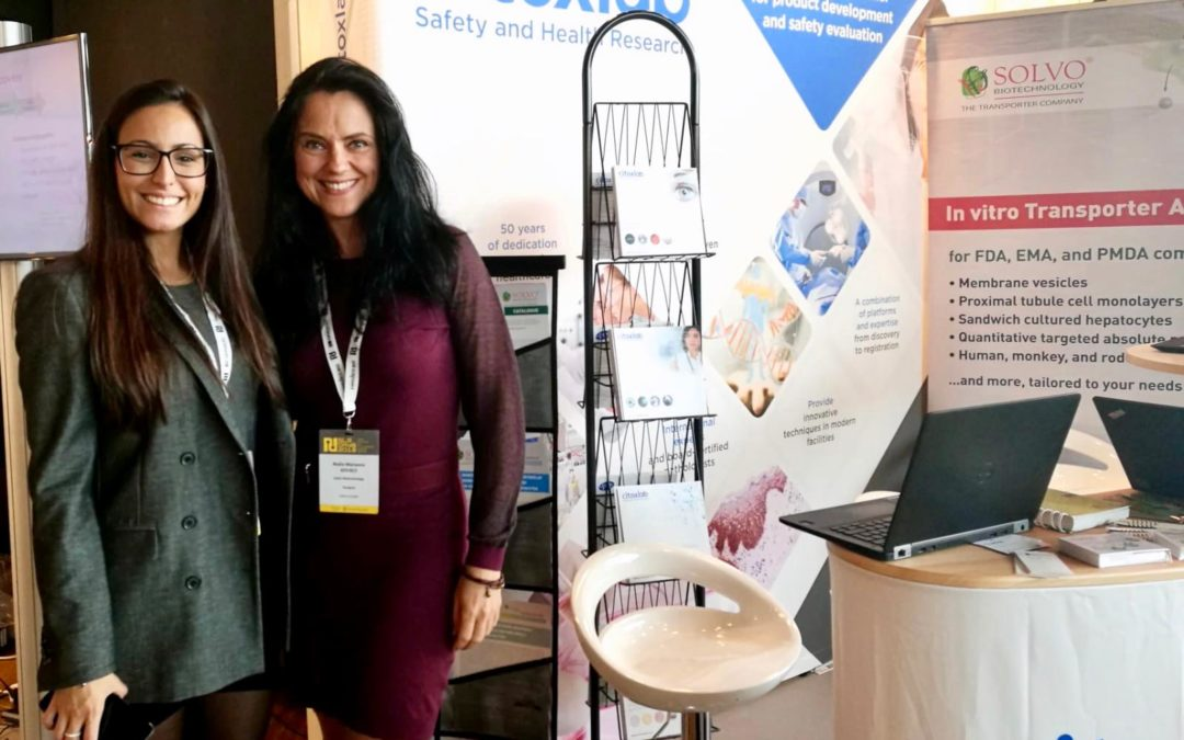 Participating in the Nordic Life Science Days 2018 in Stockholm, Sweden